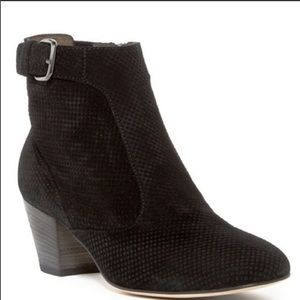 Aquatalia France Suede Ankle Booties
